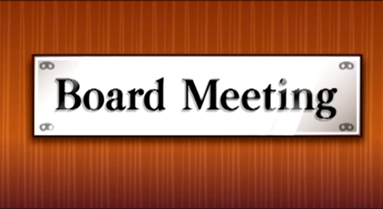 Screening – Unit 241 and Board Meeting